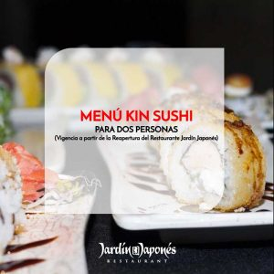 Menú Kin Sushi – Para dos personas