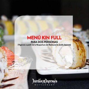 Menú Kin Full – Para dos personas